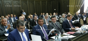 RA Govt. Armenian Government session