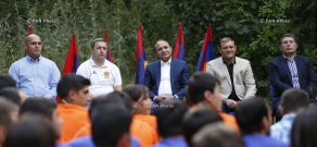 """Baze - 2014"" Pan-Armenian Youth Gathering Kicks Off In Tsakhkadzor"
