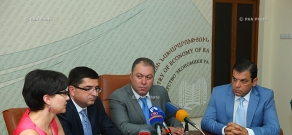 Press conference on Yerevan Show 2014 jewelry exhibition
