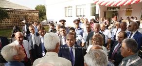 Правительство РА: Премьер-министр Овик Абрамян посетил Котайкскую область