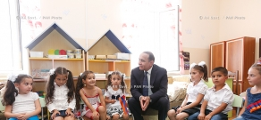 RA Govt.: PM Hovik Abrahamyan attends the opening of newly built schools in Masis and Vardashen