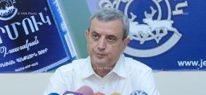 Пресс-конференция председателя постоянной парламентской комиссии по финансово-кредитным и бюджетным вопросам армянского парламента Гагика Минасяна
