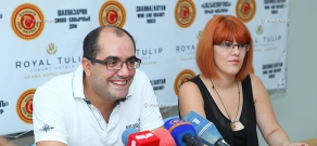 Пресс-конференция главного секретаря НОК Грачья Ростомяна