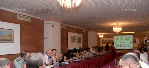 Introductory seminar on Training and capacity building for the development of a Nano-Safety Pilot project in Armenia