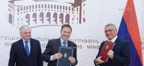 Diplomatic Academy of the MFA of Armenia and National Foreign Service Institute of the Argentine Ministry of Foreign Affairs sign an agreement on cooperation