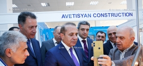 RA Govt.: Opening of Armenia EXPO 2014 trade-industrial exhibition
