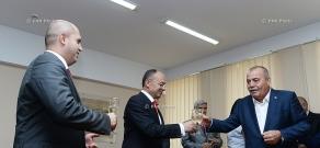 Seyran Ohanyan, Armen Ashotyan and Manvel Grigoryan sign memorandum of understanding