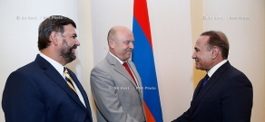 RA Govt.: PM Hovik Abrahamyan receives Governor Josef Novotný of the Karlovy Vary (Carlsbad) Region of the Czech Republic