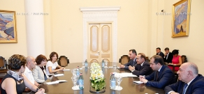 RA Govt.: PM Hovik Abrahamyan receives Pilar Torres, General Manager at Microsoft for Central & Eastern Europe