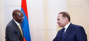 RA Govt.: Prime minister Hovik Abrahamyan receives World Bank Regional Director Henry Kerali