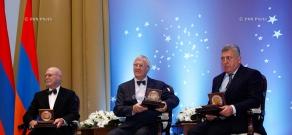 Президент Армении Серж Саргсян принял участие в ежегодной церемонии вручения премии им. академика Виктора Амбарцумяна