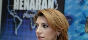 Пресс-конференция председателя Совета международных деловых связей Мариам Манукян