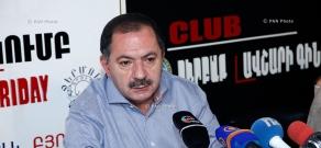 Пресс-конференция секретаря парламентской фракции АРФ «Дашнакцутюн» Агвана Варданяна