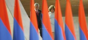 Торжественный прием по случаю 23-ей годовщины независимости Армении в СКК имени К.Демирчяна