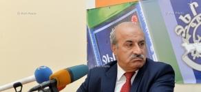 Пресс-конференция члена парламентской Республиканской партии Хосрова Арутюняна