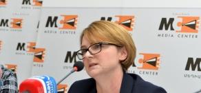 Пресс-конференция посла Великобритании в Армении Кэтрин Лич