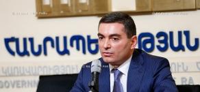 Deputy Finance Minister Vakhtang Mirumyan's news conference