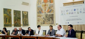 Press conference, dedicated to the European Heritage Days