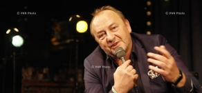 Meeting with Polish writer Janusz Leon Wiśniewski
