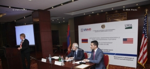 Working meeting on Armenian-American agricultural cooperation