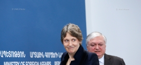 Press conference of UNDP Administrator Helen Clark and Armenian Foreign Minister Edward Nalbandian