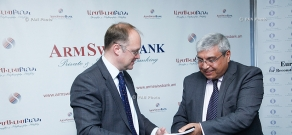 Armswissbank and EBRD sign a $5mln loan agreement to finance SME