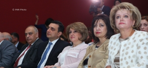 First Lady of Armenia Rita Sargsyan attends conference on Artificial Insemination