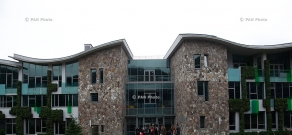 Press tour around Dilijan International School