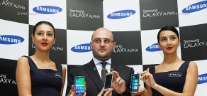 Presentation of Samsung Galaxy Alpha