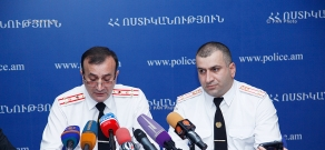 Press conference of Misha Sardaryan, Head of the Passports and Visas Department of the RA Police, Police Colonel