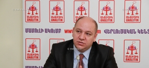 Press conference of candidate of Economics Vilen Khachatryan