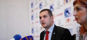 Press conference of Tigran Urikhanyan, deputy from Prosperous Armenia party