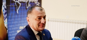 Press conference of RPA faction Secretary Gagik Melikyan