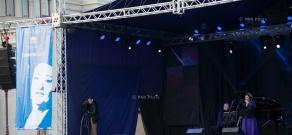 Concert of Spanish opera singer Montserrat Caballé in Stepanakert