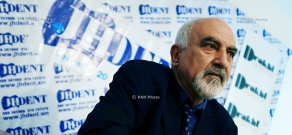 Press conference of National Self Determination Union's leader Paruyr Hayrikyan