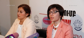 Press conference of Zara Amatuni, representative of the ICRC Yerevan office