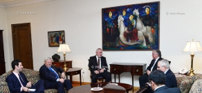 Armenian Foreign Minister Edward Nalbandian meets OSCE MG Co-Chairs and the Personal Representative of the OSCE Chairperson-in-Office Andrzej Kasprzyk