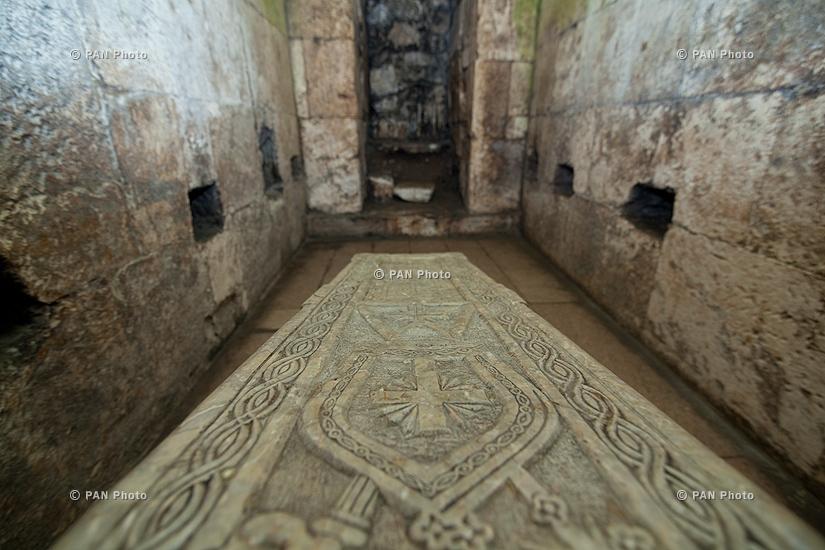 Արցախի Հանրապետություն. Ամարաս վանքային համալիր, Գրիգորիսի դամբարան (IV դար)