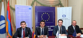 Joint press conference of European Union (EU) and European Bank for Reconstruction and Development (EBRD)