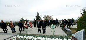 RA Govt.: PM Hovik Abrahamyan commemorates 1999 parliament terror attack victims