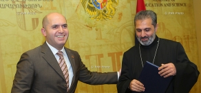 RA Ministry of Education and Science and Ayb Educational Foundation sign Memorandum of cooperation