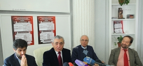 Press conference on Festival of Contemporary Armenian Music