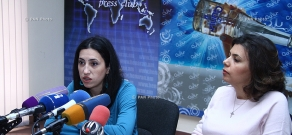 "Press conference of members of the civil initiative for ""Fair Maternity Leave Benefits"""