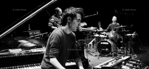 Rehearsal and concert of Tigran Hamasyan Solo Trio