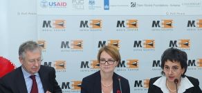 Joint press conference of UK Ambassador to Armenia Katherine Leach and Ambassador of Germany to Armenia Rainer Morel