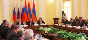 The 25th session of interparliamentary commission for cooperation of  National Assembly of Armenia and the State Duma of Russia