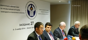 Meeting of the CIS Interstate Council on Natural and Man-Made Emergencies