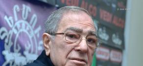 Press conference of Tigran Karapetyan