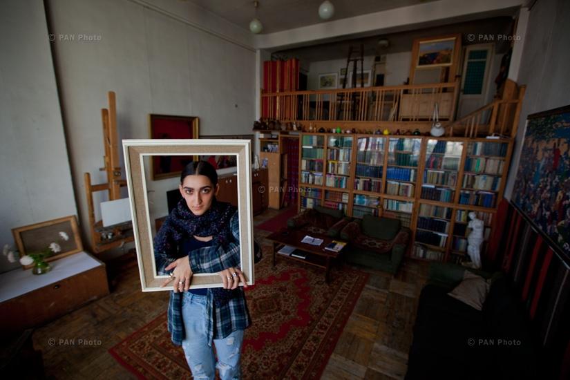 Armine Harutyunyan, Svetlana Sargsyan, Khachatur Azizyan, artists