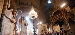 Catholicos Karekin II 15th enthronement anniversary